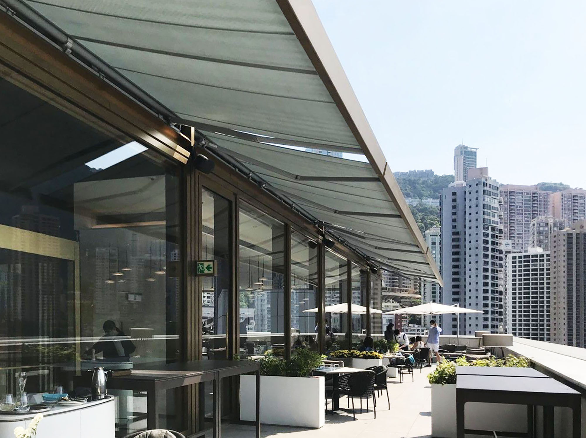 SQ2 Awnings for Hong Kong